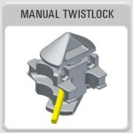 Bottom Lock, Shipping Container Lock